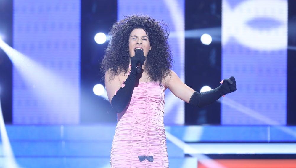 Dídac Flores inunda el plató de pasión convertida en Nina con 'Nacida para amar'