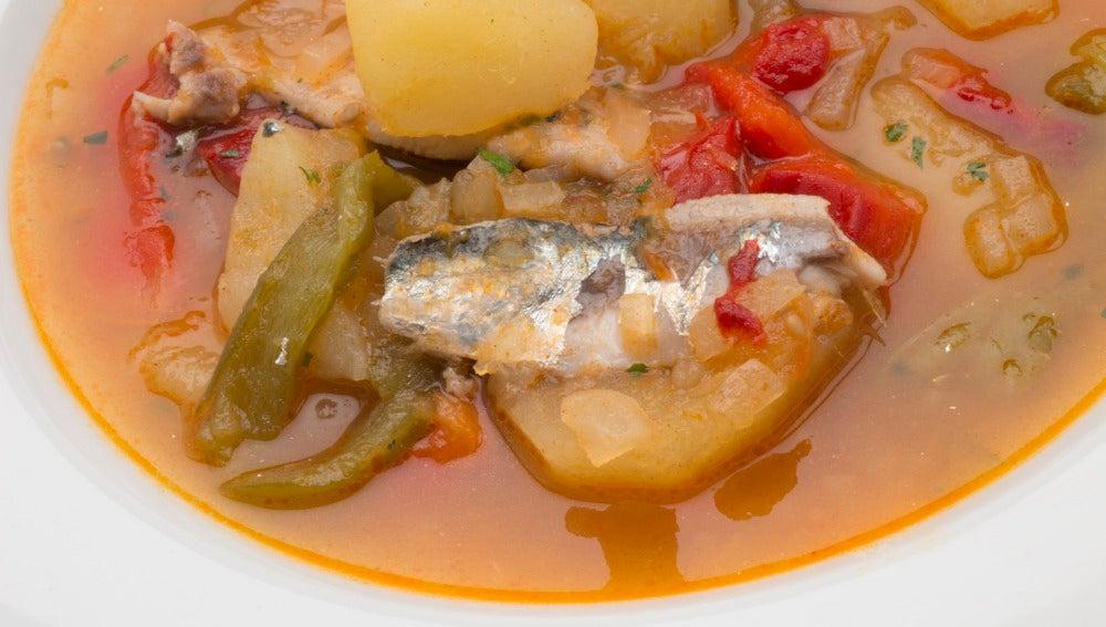 Antena 3 tv patatas con sardinas for Cocinar repollo con patatas