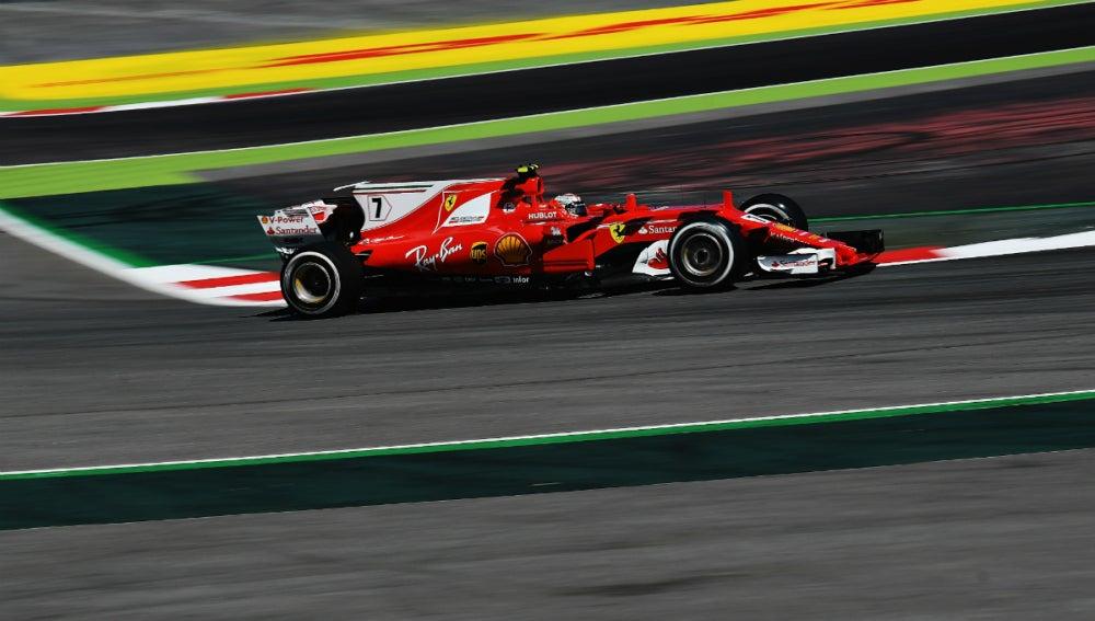 Raikkonen, en el GP de España
