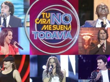 Los siete concursantes repescados en 'Tu cara no me suena todavía'