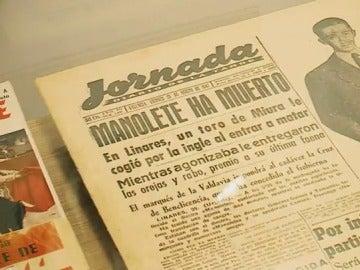 Una exposición en Madrid conmemora los 100 años del nacimiento de Manolete