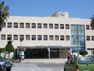 Fachada de un hospital de Melilla