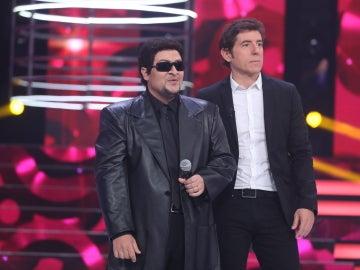 Àngel Llàcer felicita a Cristian Ehdey por su actuación como 'Son by Four'