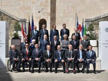 Ministros de finanzas del G-7