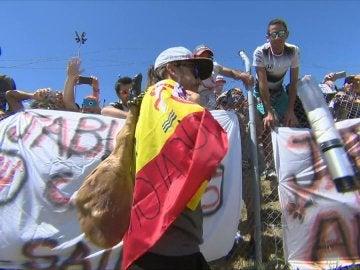 Fernando Alonso y su peculiar regalo: una paleta de jamón