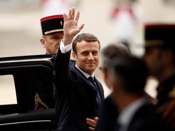 Presidente de Francia, Emmanuel Macron
