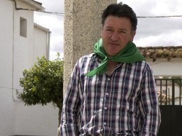 Germán Florindo, alcalde de Águeda, pedanía de Ciudad Rodrigo