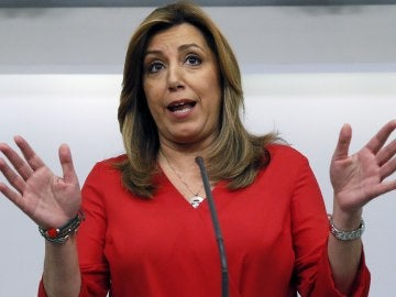 La presidenta de Andalucía y candidata a liderar el PSOE, Susana Díaz