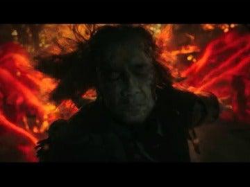 Frame 2.492322 de: Javier Bardem se mete en la piel del peor enemigo de Jack Sparrow