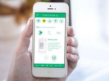 Una aplicación para que corten con tu pareja por ti