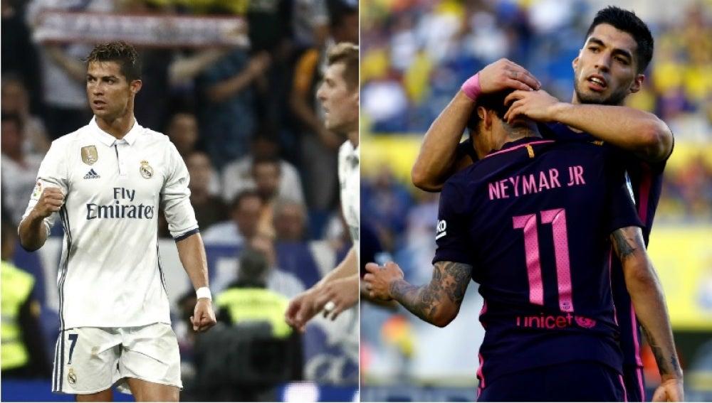 Real Madrid y Barcelona no fallaron ante Sevilla y Las Palmas