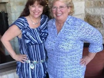 Madre e hija se reencuentran en Texas