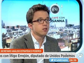 Íñigo Errejón en Espejo Público