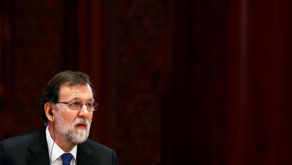 El presidente del Gobierno, Mariano Rajoy, en el foro económico en China