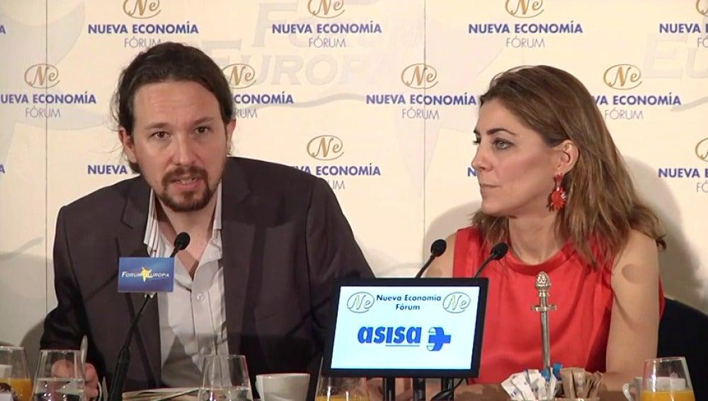 """Frame 3.620436 de: Iglesias defiende las mociones de censura: """"Podemos hacer muchas cosas malas pero el PP ni nos compra ni nos manda"""""""