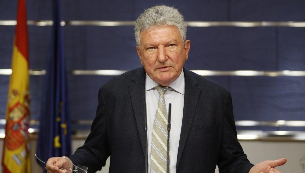 El diputado de Nueva Canarias Pedro Quevedo (Archivo)