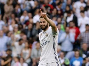 Nacho, jugador del Real Madrid