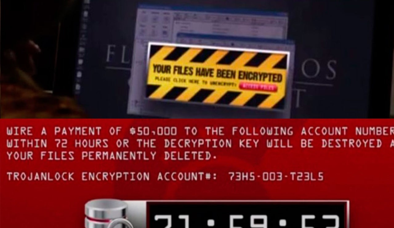 Ataque ransomware en 'The Good Wife'