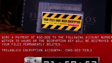 Ataque ransomware en 'The Good Wife'