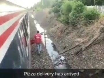 Repartidor de pizza