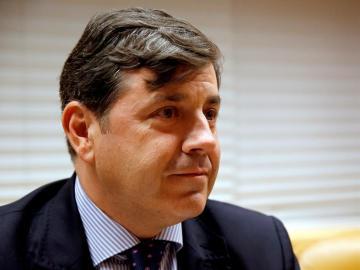 El viceconsejero madrileño de Medio Ambiente, Miguel Ángel Ruiz