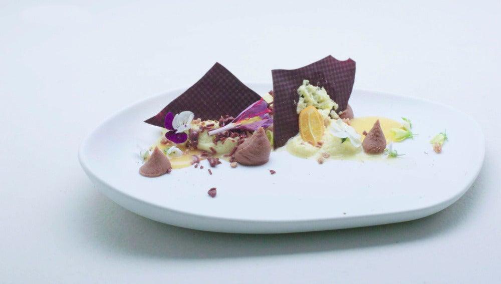 Chocolate, azafrán y cítricos