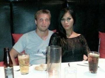 El chef junto a su mujer, a la que presuntamente asesinó