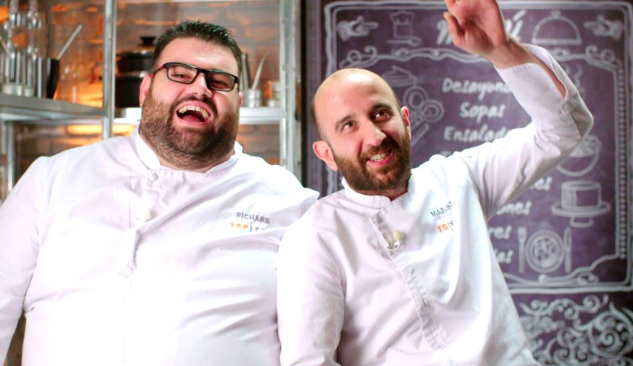 El bogavante que casi lesiona el culete de Marcano en la final de 'Top Chef'