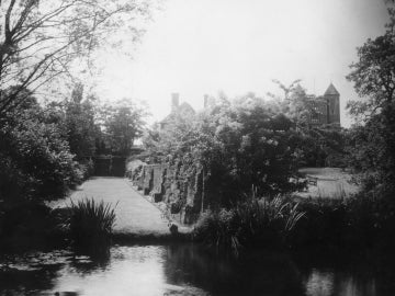 Los jardines del castillo de Sissinghurst, en Kent (Reino Unido)