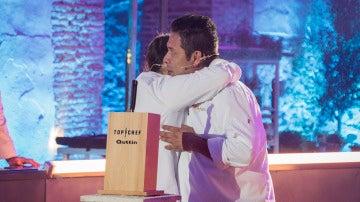 La emotiva despedida del ganador de la cuarta edición de 'Top Chef' tras alzarse con el triunfo