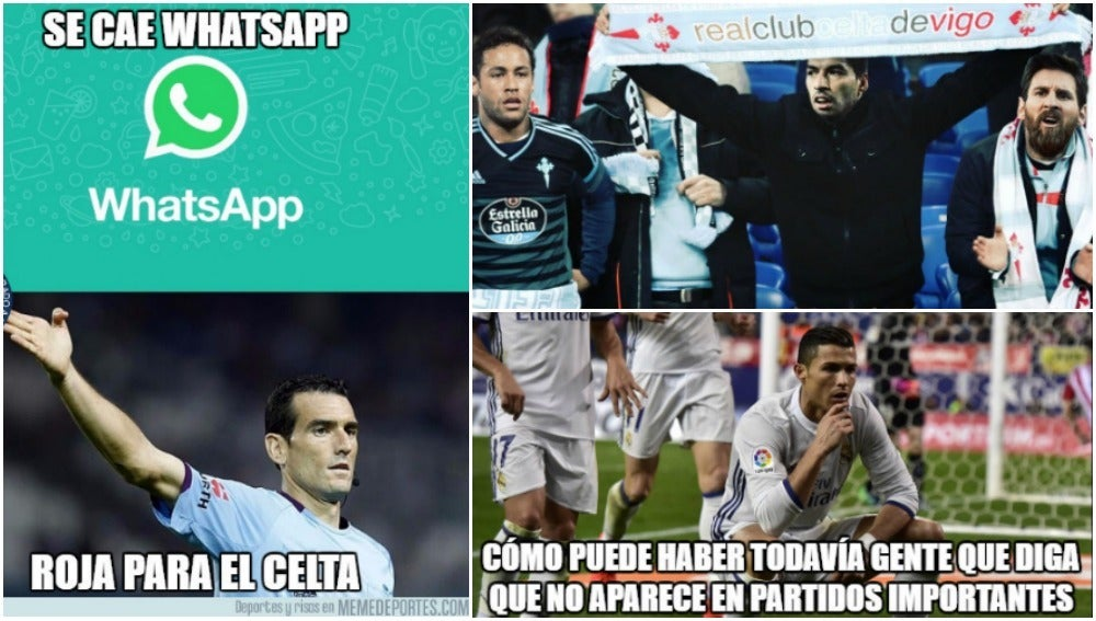 Los 'memes' del Celta-Real Madrid