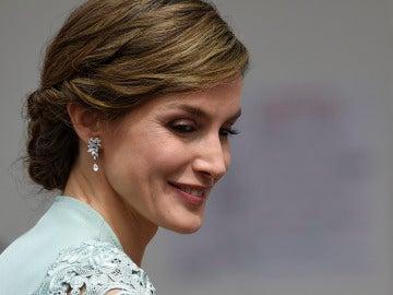 El look de la reina Letizia para la Primera Comunión de la infanta Sofía
