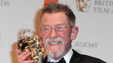John Hurt en los BAFTA