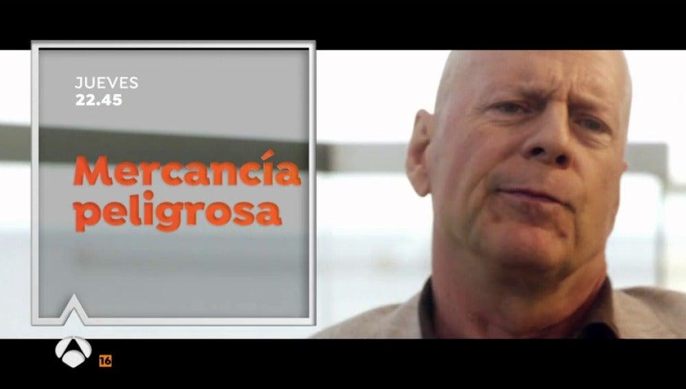 Frame 8.559161 de: Bruce Willis protagoniza 'Mercancía Peligrosa', cine de acción en Antena 3