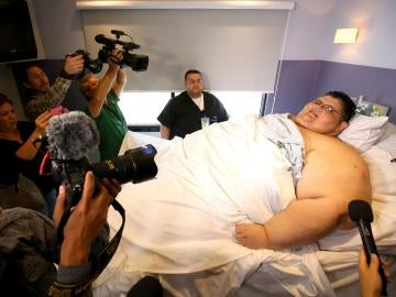 Juan Pedro Franco, el hombre más obeso del mundo