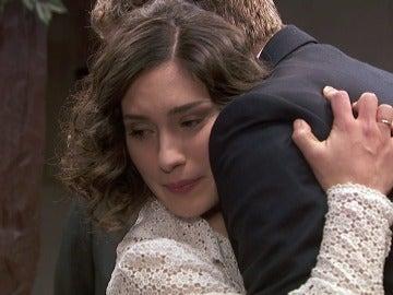 Nicolás localiza a Camila sana y salva