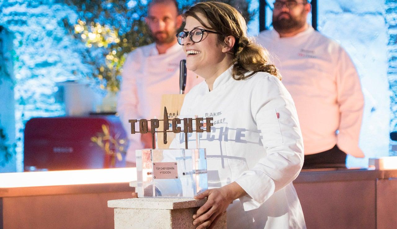 Rakel Cernicharo se convierte en la ganadora de 'Top Chef'