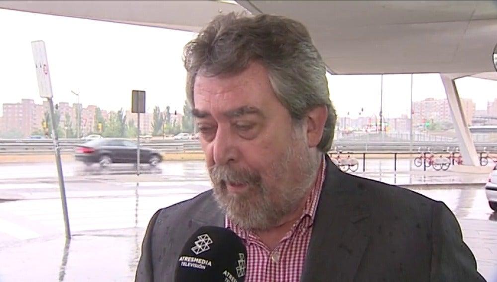 """Frame 9.72408 de: Juan Alberto Belloch: """"No voy a pedir la plaza del juez Velasco; no es oportuno por mi pasado político"""""""