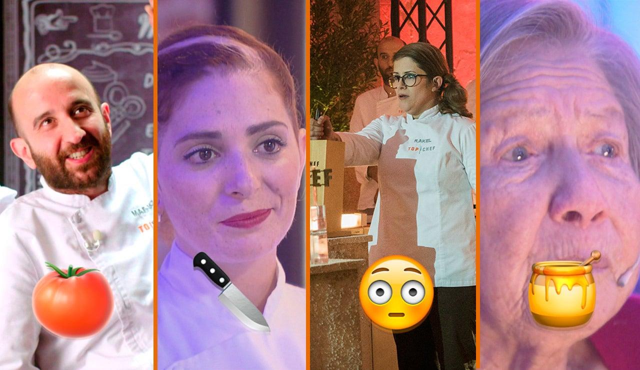 Lesiones de culete, platos envenenados y un ganador, los momentazos de la final de 'Top Chef'