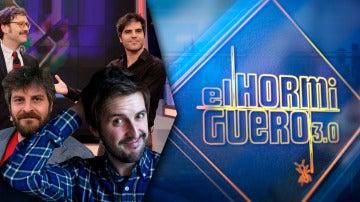 Joaquín Reyes, Ernesto Sevilla, Julián López y Raúl Cimas se divertirán el lunes en 'El Hormiguero 3.0'