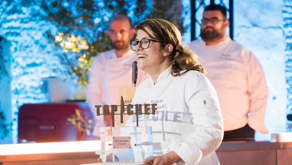 Rakel Cernicharo se convierte en la ganadora de la cuarta edición de 'Top Chef'