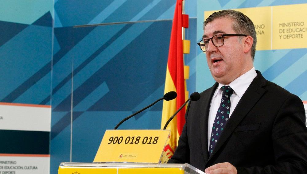 Marcial Marín, el secretario de Estado de Educación, FP y Universidades