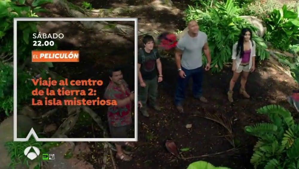 Frame 16.899393 de: Noche de aventuras en El Peliculón con la segunda entrega de 'Viaje al centro de la Tierra'