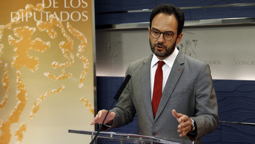Antonio Hernando en el Congreso