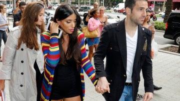 Cesc Fabregas y Daniella Seeman