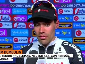 Tom Dumoulin, líder del Giro de Italia