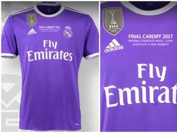 La camiseta del Madrid para la final de Cardiff