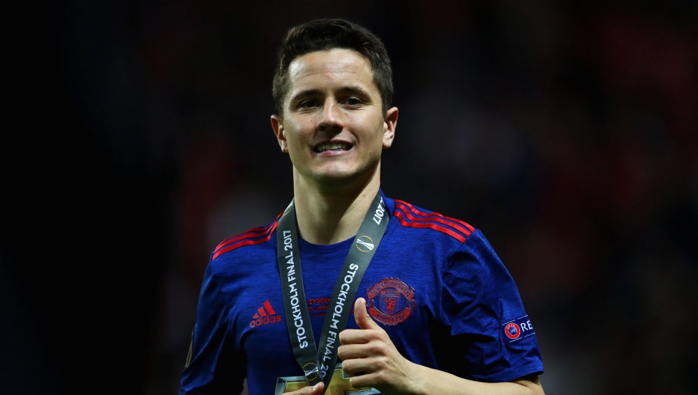 Ander Herrera, MVP de la final de la Europa League