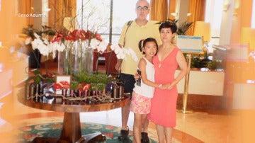 La familia de Asunta Basterra.