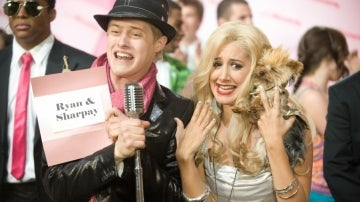 Ryan y Sharpay Evans en 'High School Musical'